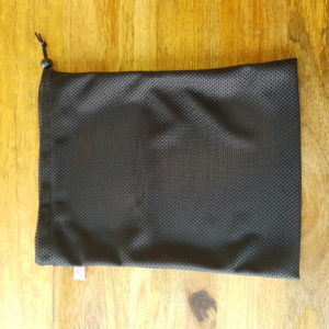 Black Honour Your Flow Wash Bag