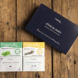 Ethical Man Gift Set Natural Soaps