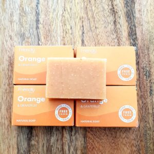 Orange Grapefruit Handmade soap