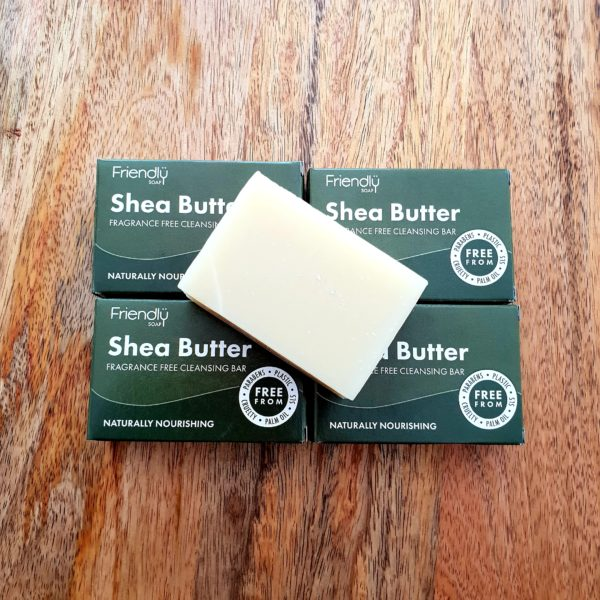Shea butter natural facial cleansing bar