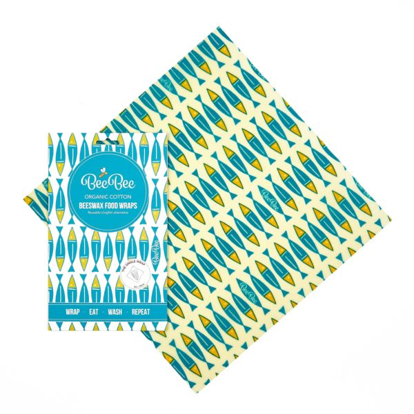 Beeswax wraps clingfilm alternative