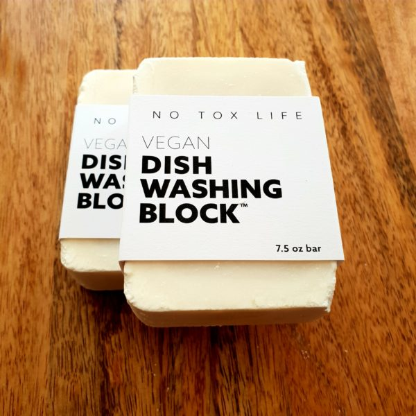 Vegan Dish Washing Soap Block
