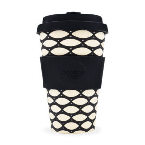Ecoffee Cup 400ml reusable fishnet style travel cup