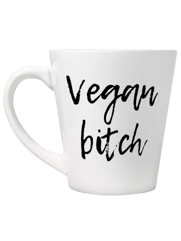 vegan bitch latte mug