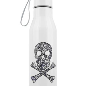 Skull Crossbones reusable Water Bottle