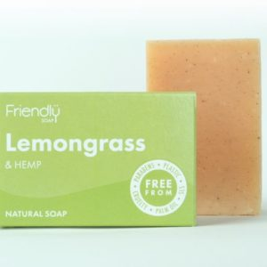 Lemongrass vegan soap natural soap
