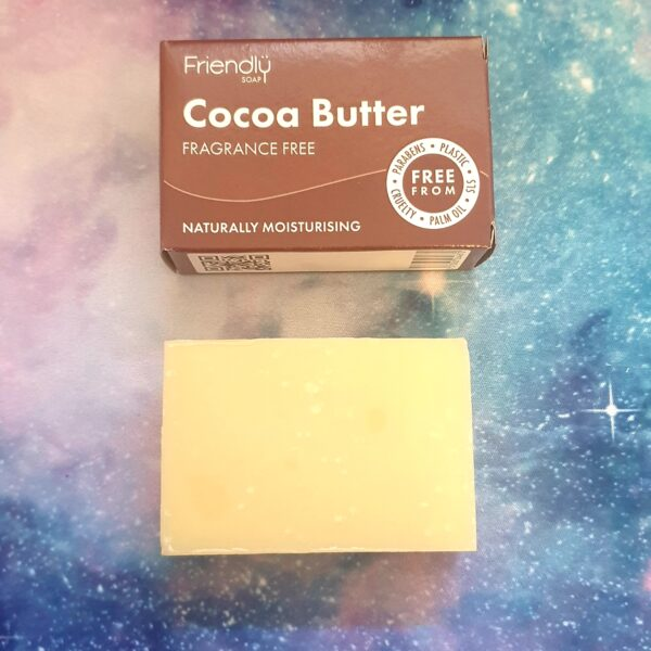 natural cocoa butter facial cleansing bar