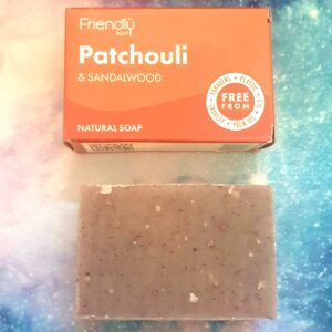 Patchouli and Sandalwood Natural Soap Bar