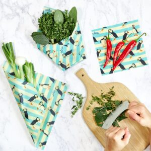 Mixed_Pack_-_Puffins_-BeeBee_Wraps_Plastic_Free_Alternative_to_Clingfilm
