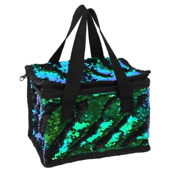 Lunch Box Cool Bag Mermaid sequin