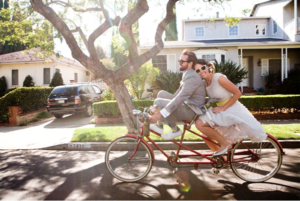 Oh Happy Days Eco Bike Wedding