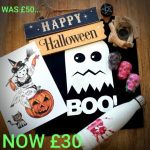 Eco and Sustainable Halloween items