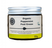 Organic-foot-cream-Peppermint-foot-butter-Heavenly-Organics