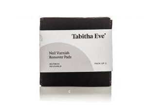 Tabitha-Eve Reusable nail polish remover wipes sustainable bamboo