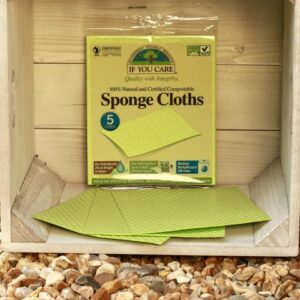 compostable kitchen cleaning sponge cloths