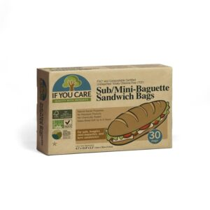 compostable sandwich bags, plastic-free and unbleached