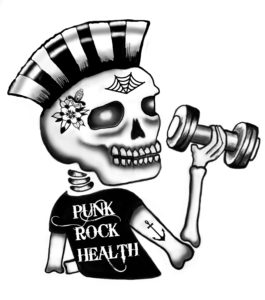 Punk Rock Health Syd Skull